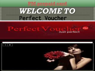 PM prepaid card
