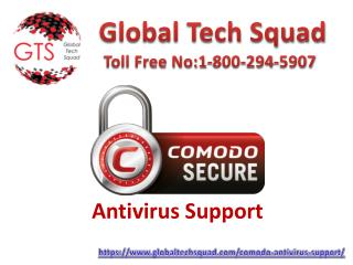 (800) 294-5907 | Resolve Your Issues Regarding Comodo