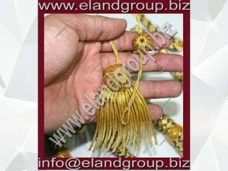 Doctoral Bullion tam Tassel