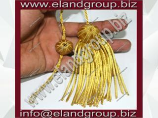 Tam Gold Tassel