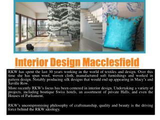 Interior Designers Macclesfield