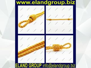 Military Gold Uniform Cap Cords