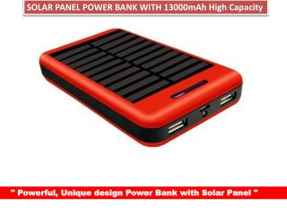 Coolnut Power Bank High capacity Solar Power Bank