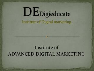Best Digital Marketing Institute in Hyderabad