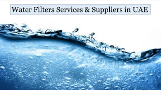 Water Purifier Supplier & Services in UAE