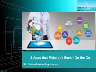 5 apps that make life easier on the go