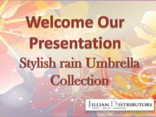 Stylish rain Umbrella Collection
