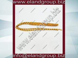 Army Band Gold Lanyard