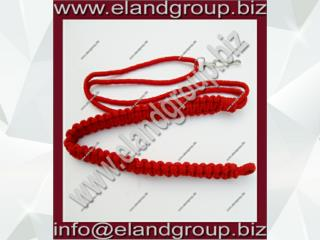 Military Red Uniform Lanyard