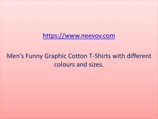 Mens Turquoise Colour T Shirts with Funny Graphic Design