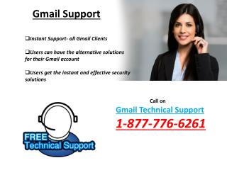 Dial1-877-776-6261 Gmail Technical Support Number For Enactment And Startup Issues