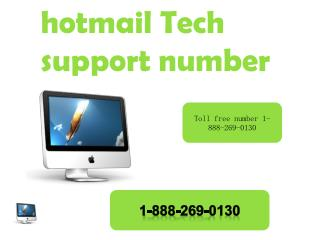 hotmail customer service 1-888-269-0130 number