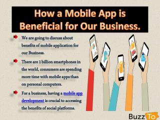 Best Mobile App Development Company in Toronto