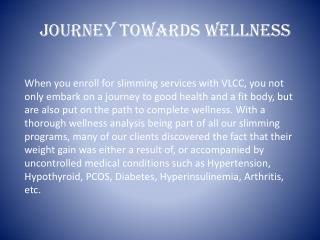 Journey Towards Wellness