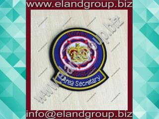 Bowls Hampshire Hand Embroidery Bullion badges