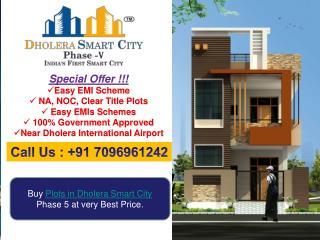 Buy plots in Dholera