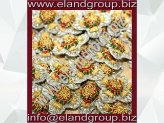 Bullion Pips Badges