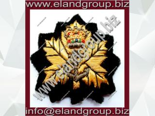 Canadian Naval Officer Cap Badge