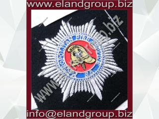 Hand Embroidery Bullion Crests badges