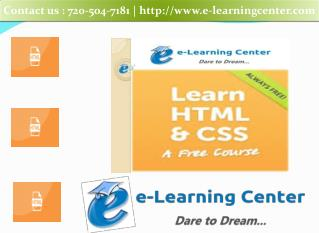Benefits of  Online HTML Courses
