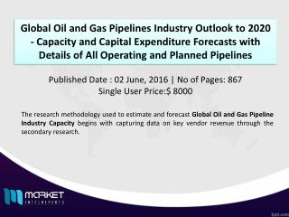 Growth of Global Oil and Gas Pipelines Industry Analysis and forecasting Report 2016- 2020