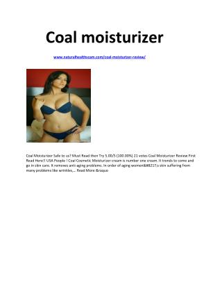 http://www.naturalhealthscam.com/coal-moisturizer-review/