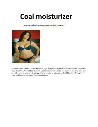 http://www.naturalhealthscam.com/coal-moisturizer-review/