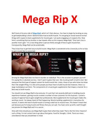 Mega Rip X