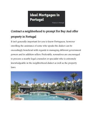 Algarve Mortgages