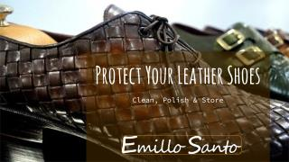 Protect Your Leather Shoes - Clean, Polish & Store