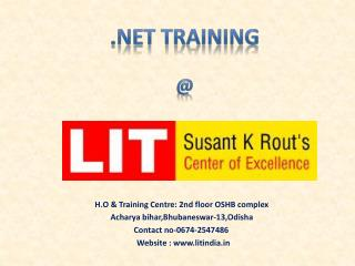 .NET training in Bhubaneswar
