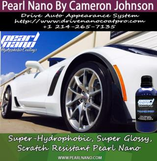 Cameron Johnson at Drive in Hi Definition with Pearl Nano Coatings