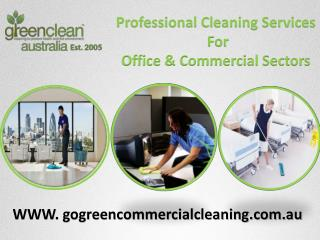 Professional Commercial & Office Green   Cleaning Services in Sydney