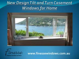Latest Design Tilt and Turn Casement Windows