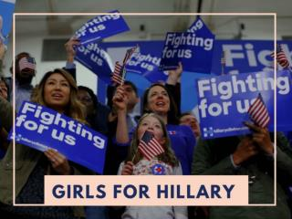 Girls for Hillary