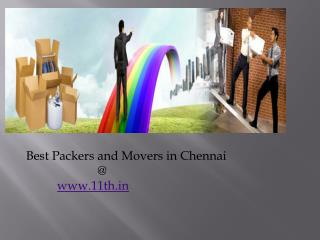 Best & Reliable Packers and Movers in Chennai