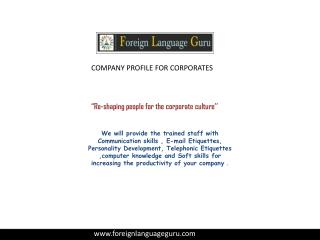 Best Foreign Language classes in delhi