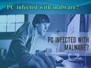 Pc infected with malware - ClickITteh