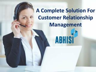 Abhisi a complete help desk solution