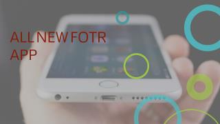 Fotr app for iPhone