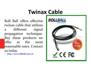 Twinax Cable
