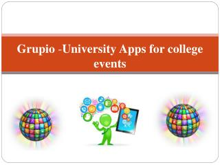 Grupio -University Apps for college events