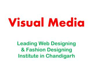 Web Desiging Courses in Chandigarh