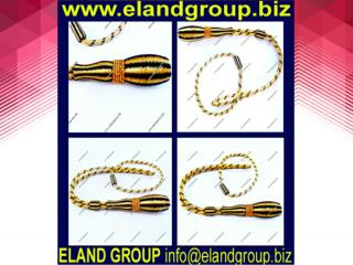 Army Gold & black Sword knot