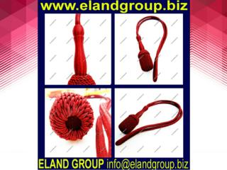Burgundy Silk Officer Sword Knot