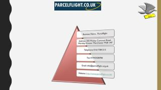 Parcel Flight Offers Manchester Courier Services and Delivery of Parcels to New Zealand