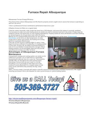 Furnace Repair Albuquerque