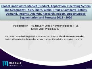 Smart Watch Market: high sales of smart watches expected in China and India in Asia Pacific