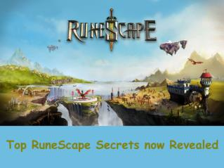 Top Runescape secrets now revealed