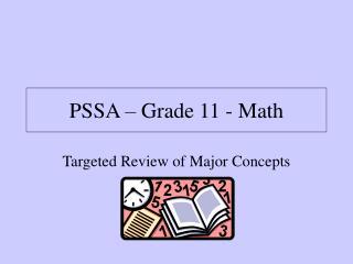 PSSA   Grade 11 - Math